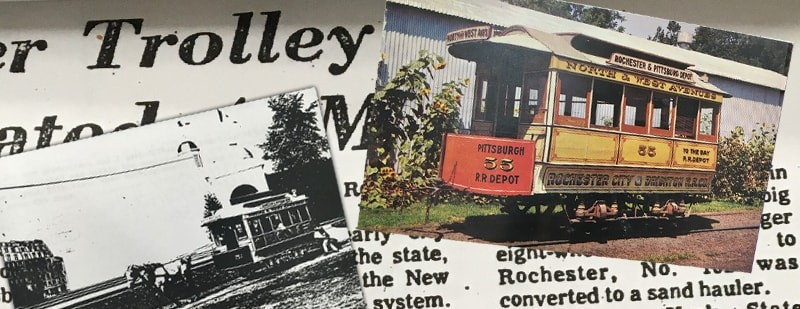 A Peek Into RMSC Collections: Trolley Car No. 55