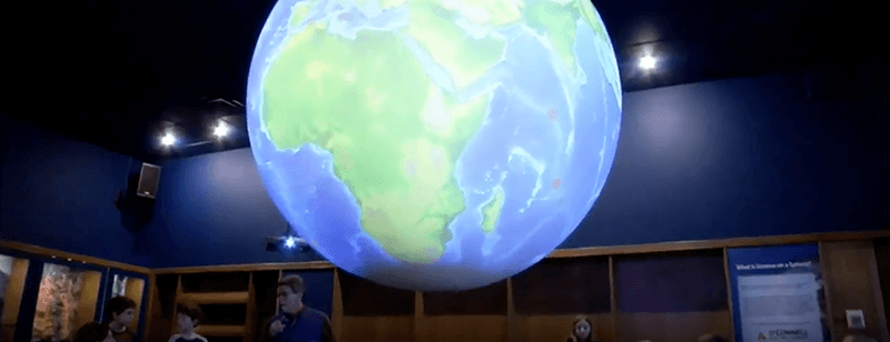 VIDEO: Celebrating Earth Day with Science On a Sphere