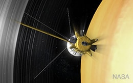 end of cassini