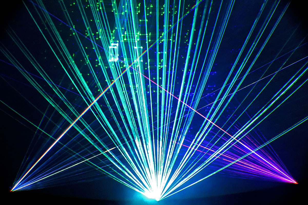 Pink Floyd Laser - Rochester Museum & Science Center