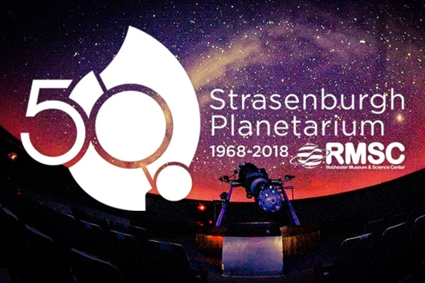 Strasenburgh Planetarium Celebrating 50 Years
