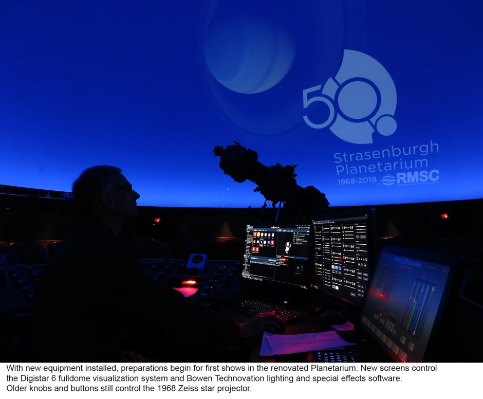What's Happening at Strasenburgh Planetarium?