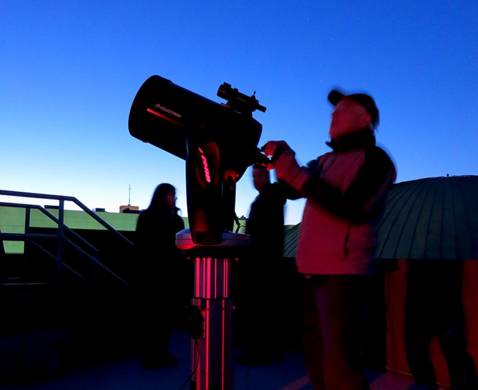 Saturday Night Telescope Viewing